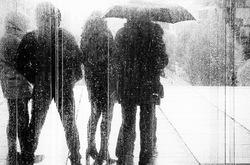 Pluie sur le Parvis