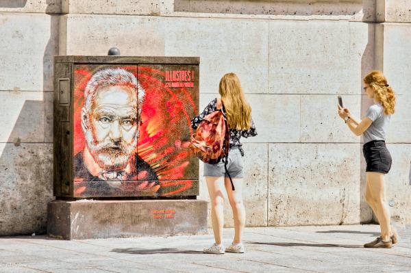 Victor Hugo par C215