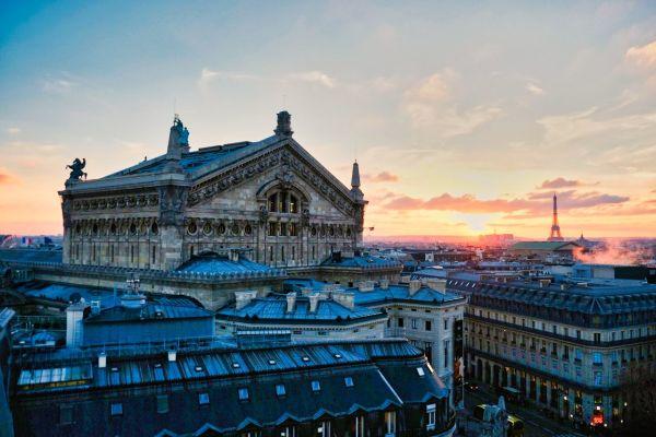 Les toits de l'Opéra