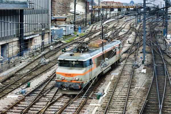 Arrivée gare d'Austerlitz