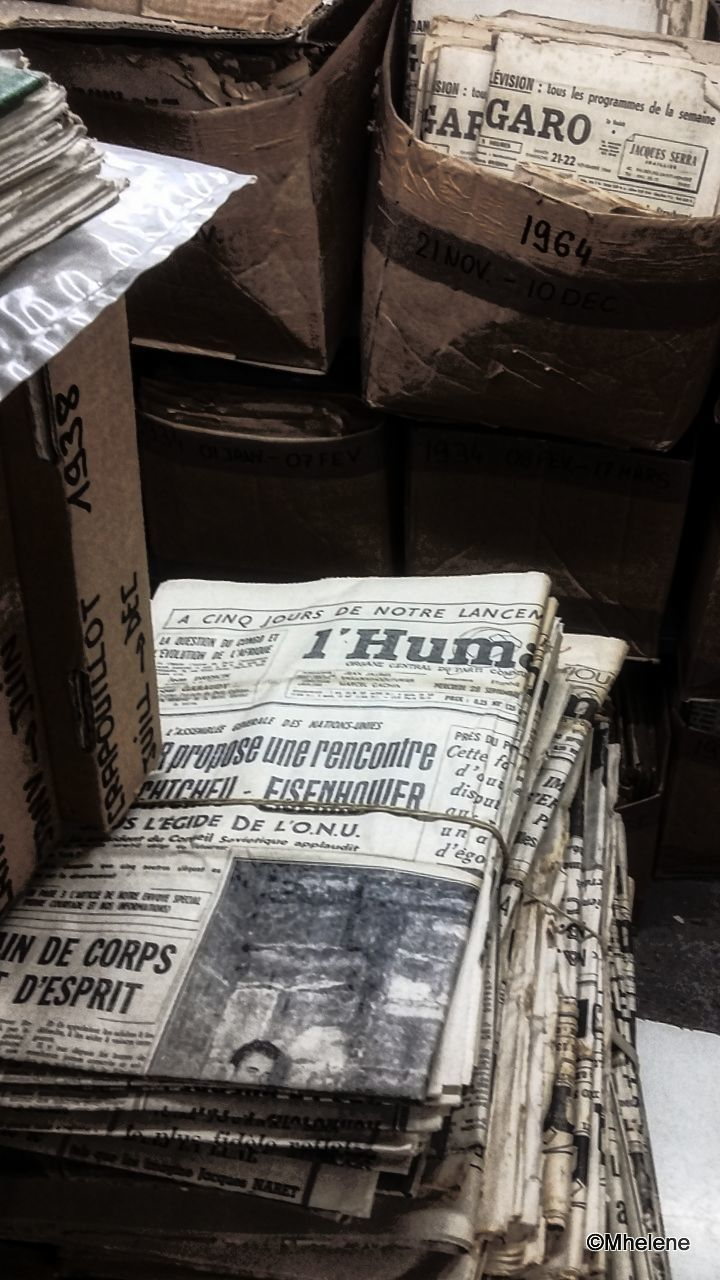 Journaux anciens
