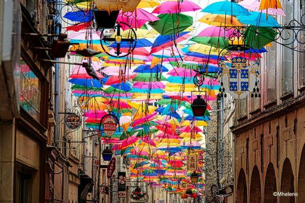 Les parapluies de Laon