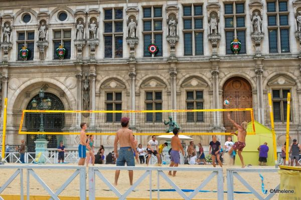 Beach Volley in Paris