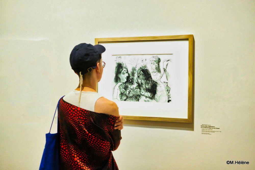 Au musée  Picasso - 2