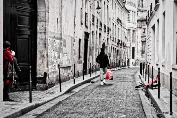 Dans les rues du Marais