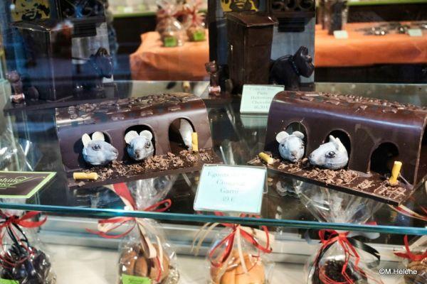 Les égoûts de Paris ...en chocolat