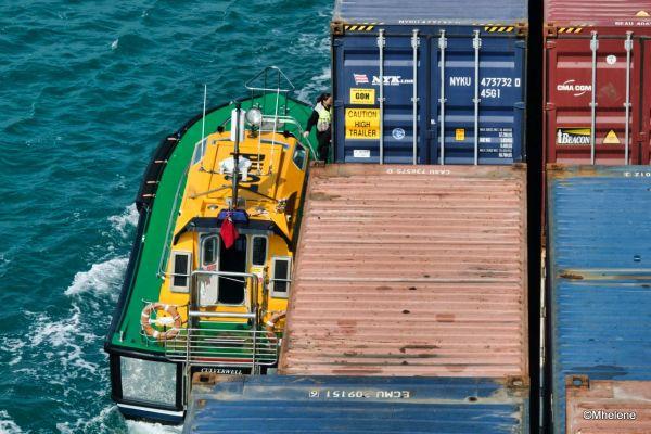 A bord d'un cargo 21