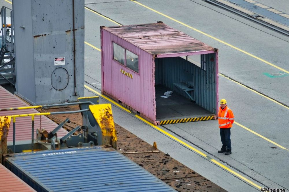 L'autre vie en rose d'un container