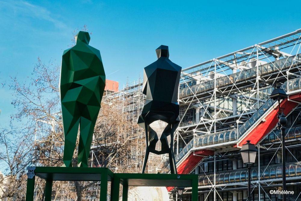 Ils veillent sur le Centre Pompidou