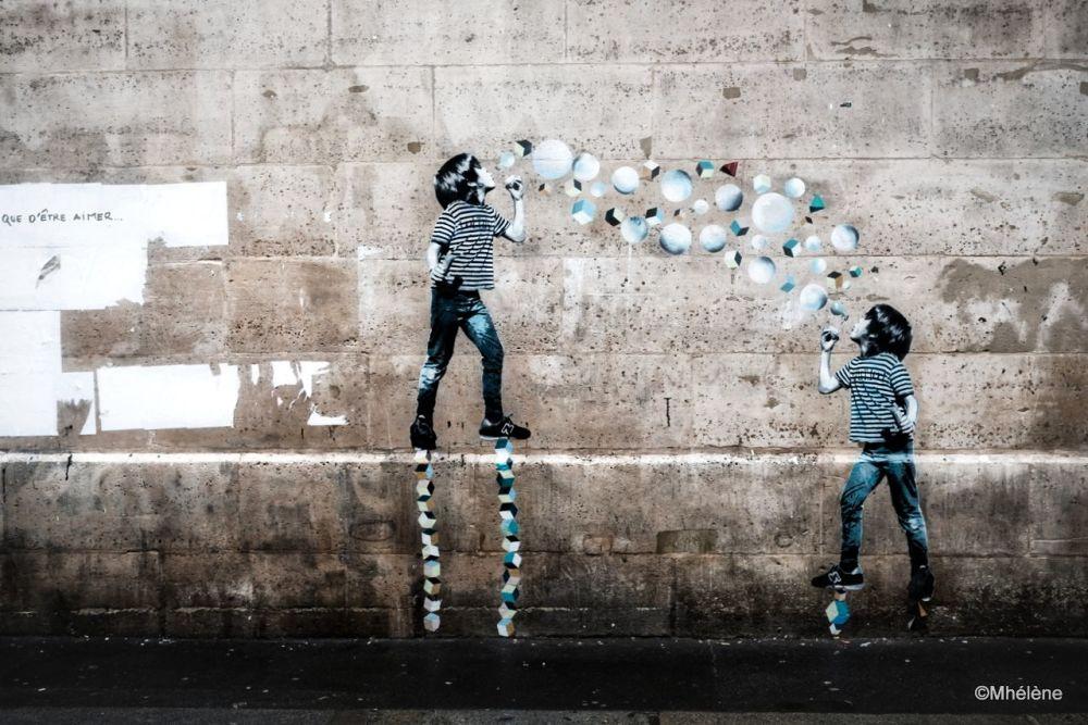Des bulles rondes et carrées pour être et aime-r-