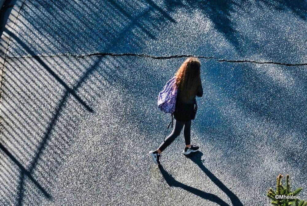 Entre le soleil et l'ombre
