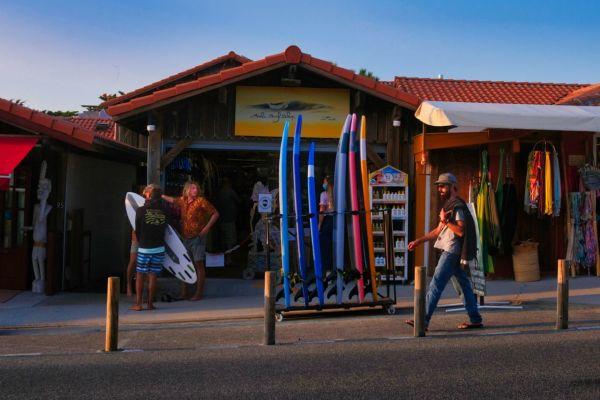 Surf à l'Ouest
