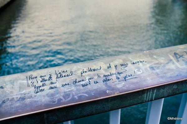Message - Là où coule la Seine...