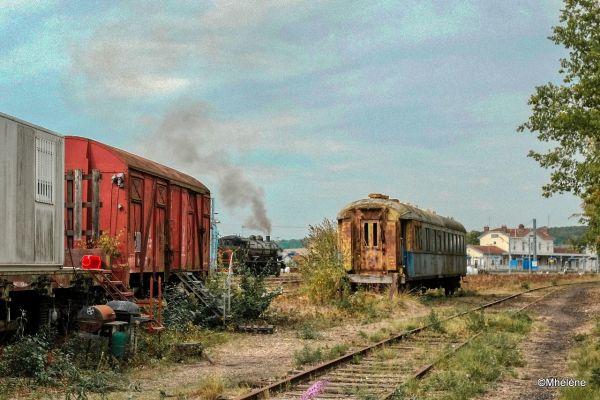 Les anciens trains