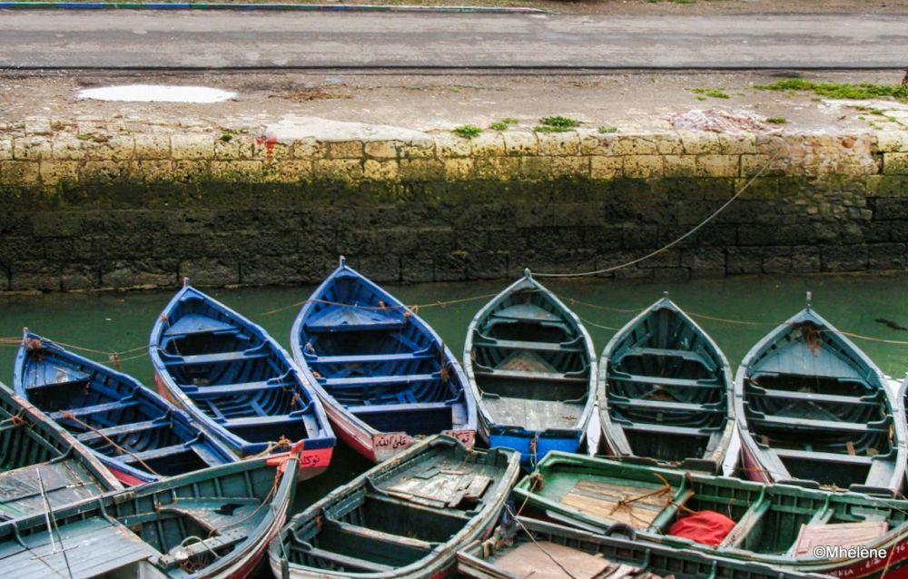 Les barques des pêcheurs