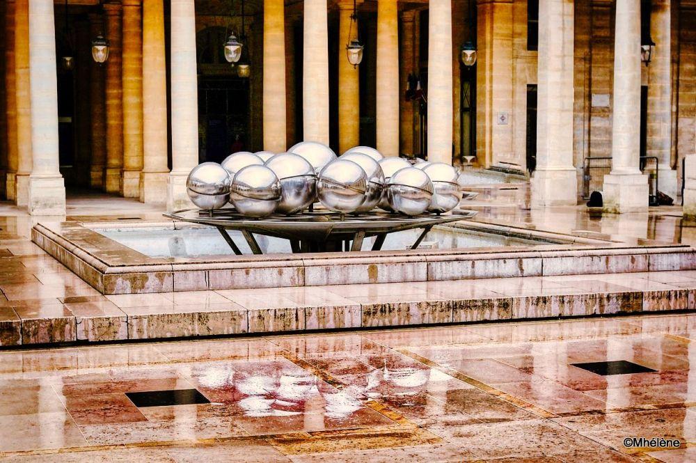 Les fontaines à boules