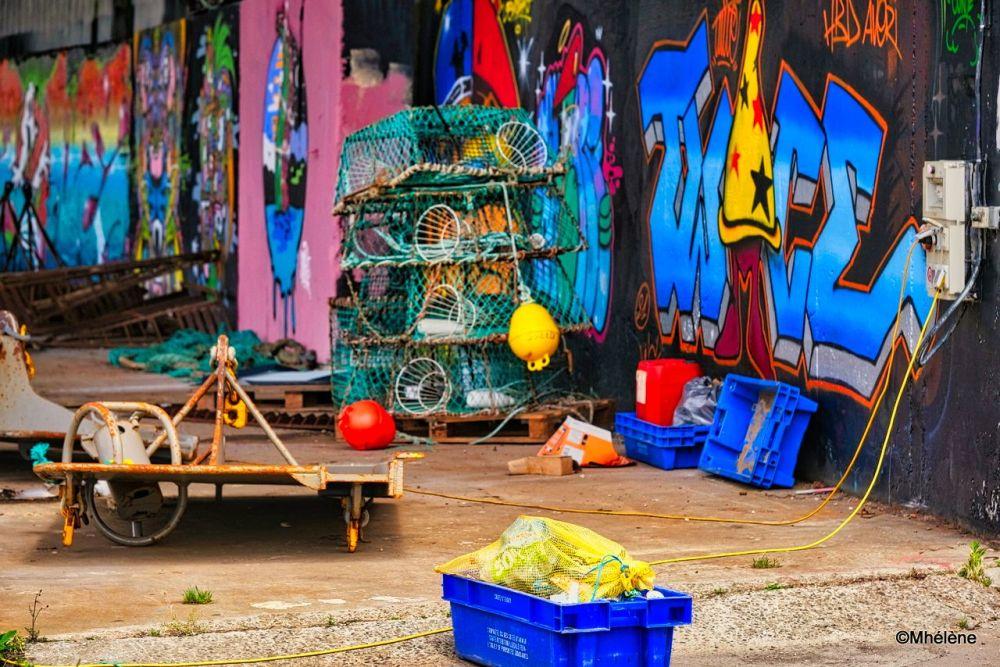 Le hangar de pêche