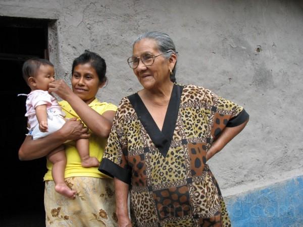 Three generations, Madriz, Nicaragua
