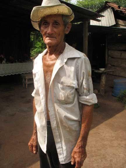 Campesino, Isla de Ometepe, Nicaragua