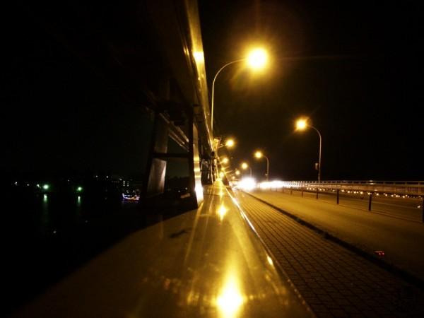 more of that bridge at night
