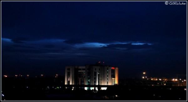 Early evening skyline