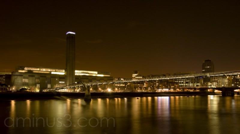 The Tate Modern at Night, London