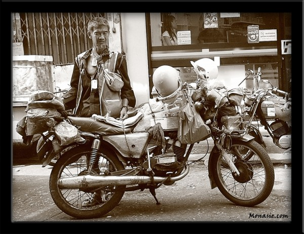 Taxi Motobike (China Town, Bangkok)