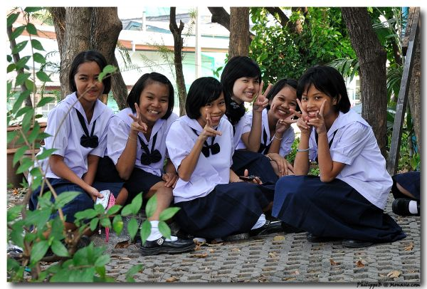 Bangkok, teenager after the school