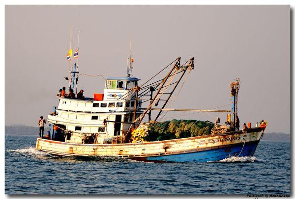 Thailand, Fishermann Boat in Koh Samet