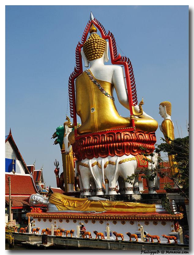 Bangkok Thonburi, Wat Pak Nam