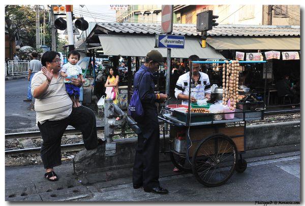 Raillway Station, Bangkok Thon Buri