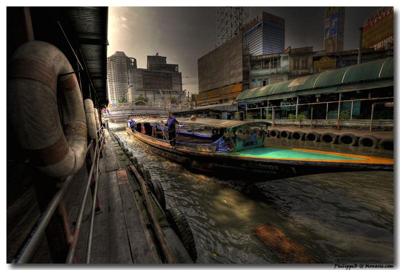 Bangkok, Bus Boat on the Klong