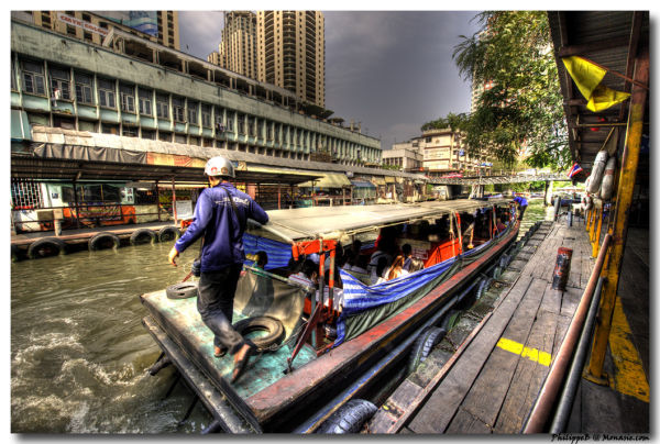 Bangkok, the Klong Boat
