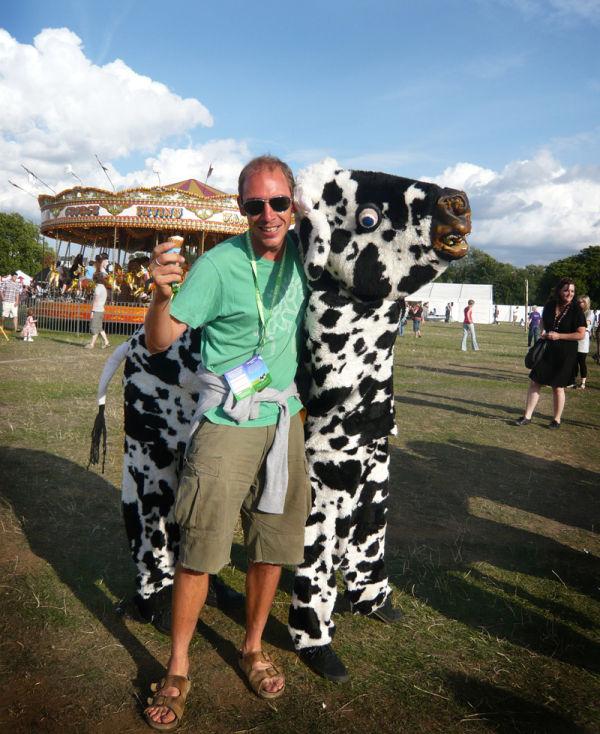 cow strangling