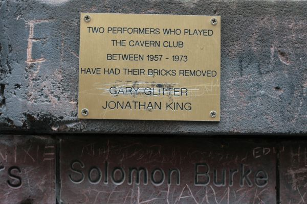Removed from history (on to a plaque)