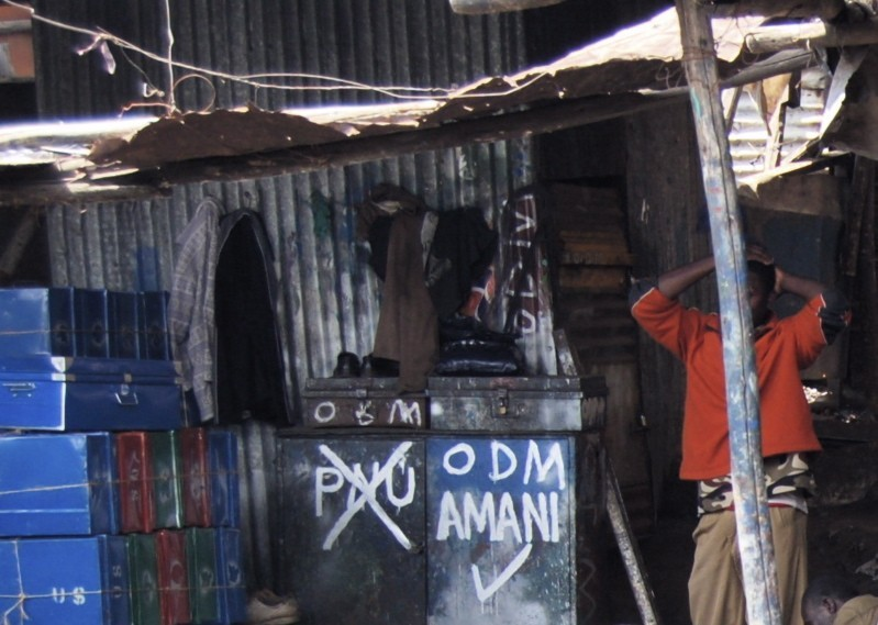 Graffiti showing ODM support
