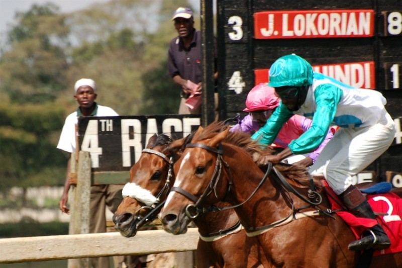The fourth race at Ngong Race Course