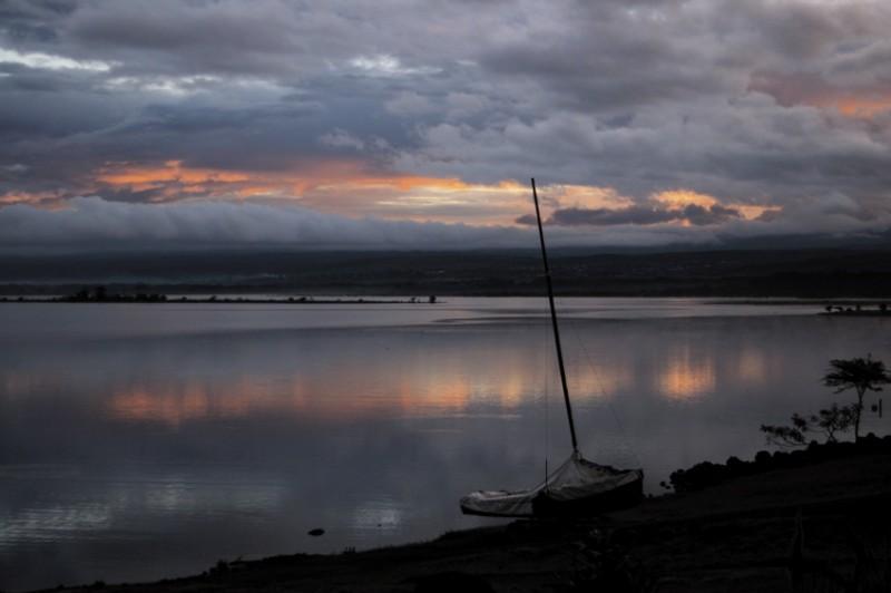 Sunrise at Lake Naivasha