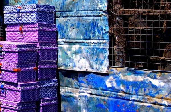 Metal trunks for sale in Nairobi jua kali market