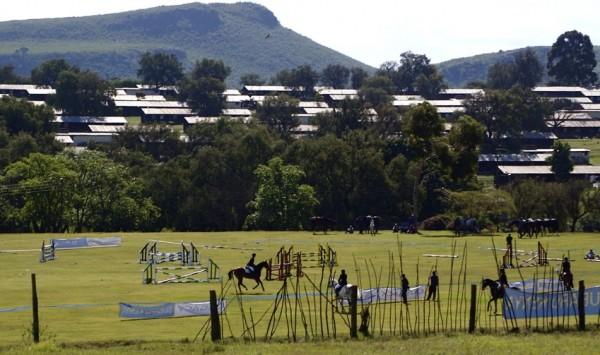 Horse show at Gilgil, Kenya