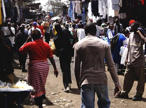 Market scene, Nairobi