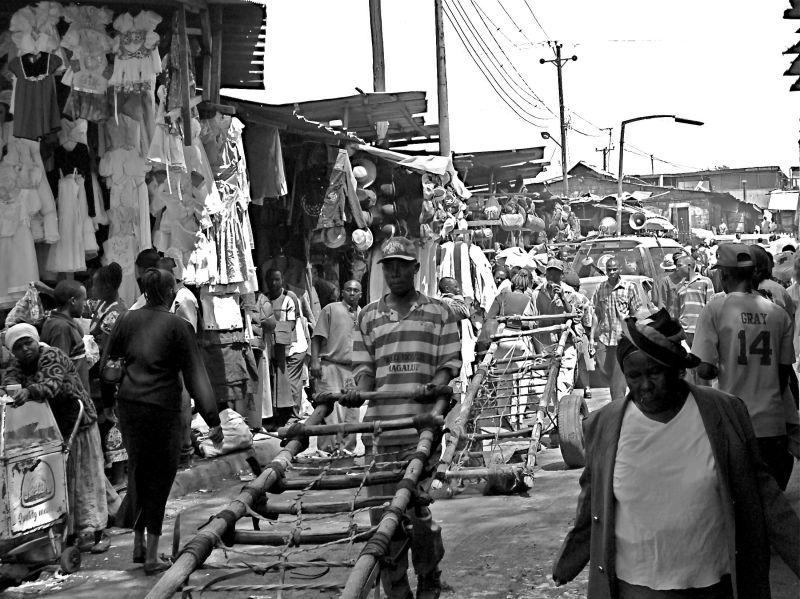 Nairobi used-clothing market