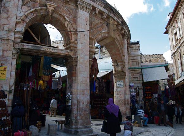 Old Jerusalem market street