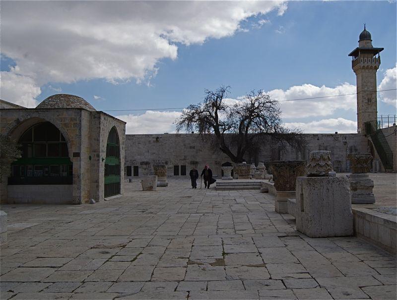 Plaza at Dome of the Rock, Old Jerusalem
