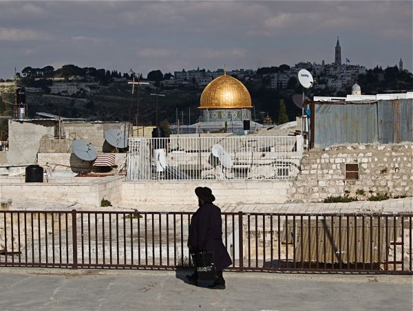 On top of the Jewish Quarter, Old Jerusalem