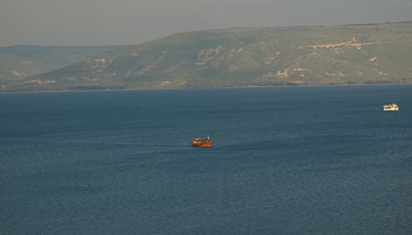Sea of Galilee, afternoon