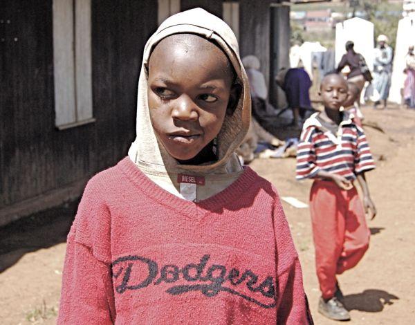 Boy in IDP camp, Kenya 2008
