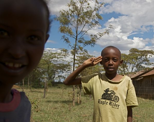 Portrait of a boy, Sipili, Kenya