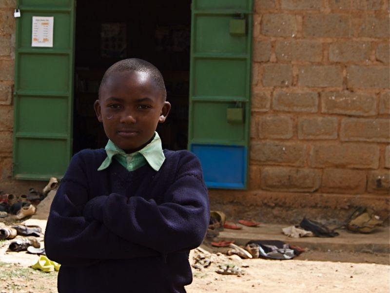 Portrait of a boy, Sipili, Kenya, KidsLibs library