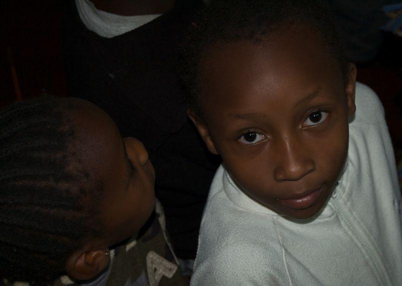 Portrait of a girl, Mathare North, Nairobi